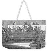 Quaker Marriage, 1842 Weekender Tote Bag