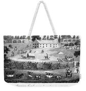 Quaker Meeting, 1811 Weekender Tote Bag