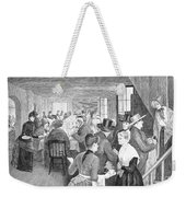 Quaker Meeting, 1888 Weekender Tote Bag