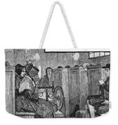 Quaker Meeting Weekender Tote Bag by Granger