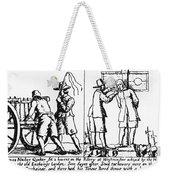 Quaker Persecution Weekender Tote Bag by Granger