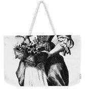 Quaker Woman, 17th Century Weekender Tote Bag