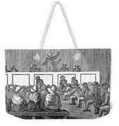 Quaker Worship, 1842 Weekender Tote Bag