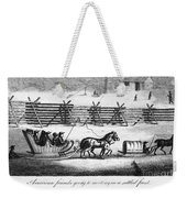 Quakers Going To Meeting Weekender Tote Bag