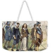Quakers: Mary Dyer, 1659 Weekender Tote Bag by Granger
