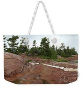 Quartz Vein Weekender Tote Bag