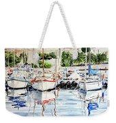 Quattro Barche Al Pennello Di Bonaria Weekender Tote Bag