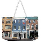 Quebec City Street View Weekender Tote Bag