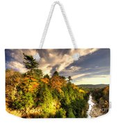 Quechee Gorge In The Fall  Weekender Tote Bag
