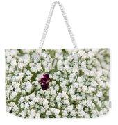 Queen Anne's Lace  Weekender Tote Bag