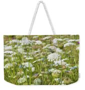 Queen Anne's Lace In All Its Glory Weekender Tote Bag