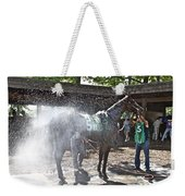 Quick Shower Before The Race Weekender Tote Bag