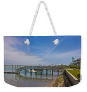 Quiet At The Sound Weekender Tote Bag