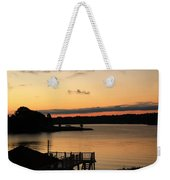 Quiet Mornings Weekender Tote Bag