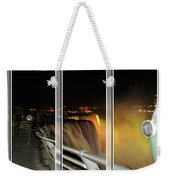 Quiet Thunder Triptych Series Weekender Tote Bag