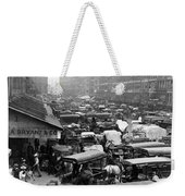 Quincy Market From Faneuil Hall - Boston - C 1906 Weekender Tote Bag
