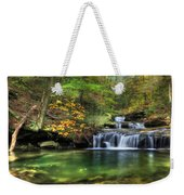 Quinn Run Cascades Weekender Tote Bag