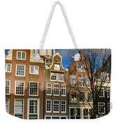 Raamgracht 19. Amsterdam Weekender Tote Bag