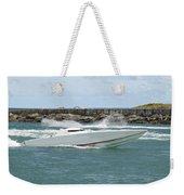 Race Boat Weekender Tote Bag