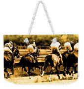 Race To The Finish Line Weekender Tote Bag