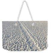 Racetrack Death Valley Trail Of Mystery Weekender Tote Bag
