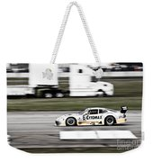 Racing By Weekender Tote Bag by Darcy Michaelchuk
