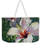 Radiant Light - Hibiscus Weekender Tote Bag