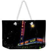 Radio City Music Hall - Greeting Card Weekender Tote Bag