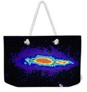 Radio Image Of Spiral Galaxy Ngc 4631 Weekender Tote Bag
