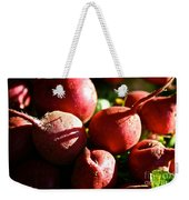 Radishes At Sunrise Weekender Tote Bag