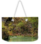 Radovna River In Vintgar Gorge Slovenia Weekender Tote Bag