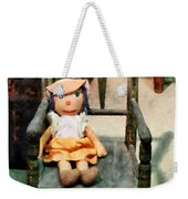 Rag Doll In Chair Weekender Tote Bag