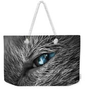 Raging Blue Weekender Tote Bag