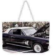 Ragtop In Black Weekender Tote Bag