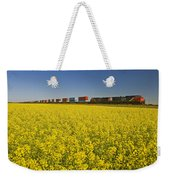 Rail Cars Carrying Containers Passe Weekender Tote Bag