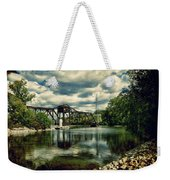 Rail Swing Bridge Weekender Tote Bag