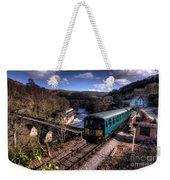Railcar At Berwyn Weekender Tote Bag