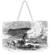Railroad Accident, 1853 Weekender Tote Bag