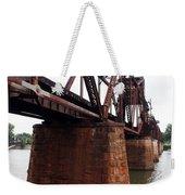 Railroad Bridge 1 Weekender Tote Bag