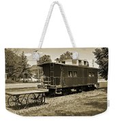 Railroad Car And Wagon Weekender Tote Bag