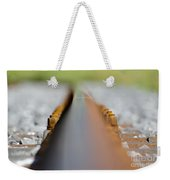 Railroad Tracks Weekender Tote Bag