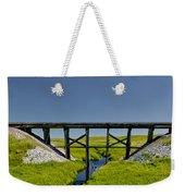 Railroad Trestle Weekender Tote Bag