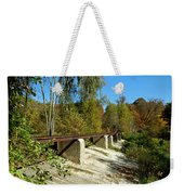 Rails To The Past Weekender Tote Bag