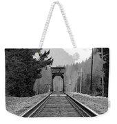 Railway Track Weekender Tote Bag