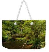 Rain Forest Bridge Weekender Tote Bag