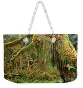 Rain Forest Crocodile Weekender Tote Bag