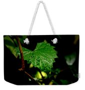 Rain On Ivy Weekender Tote Bag