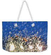 Rain On My Windshield Weekender Tote Bag