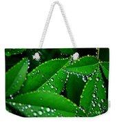Rain Patterns Weekender Tote Bag