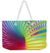 Rainbow 7 Weekender Tote Bag